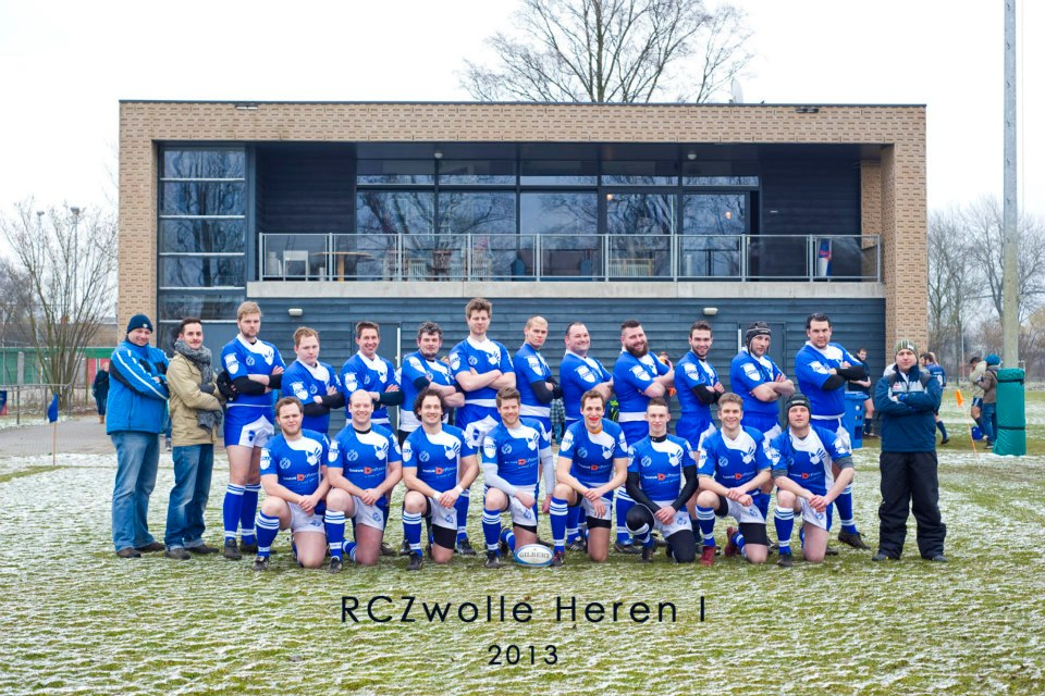 Teamfoto heren 1 2013