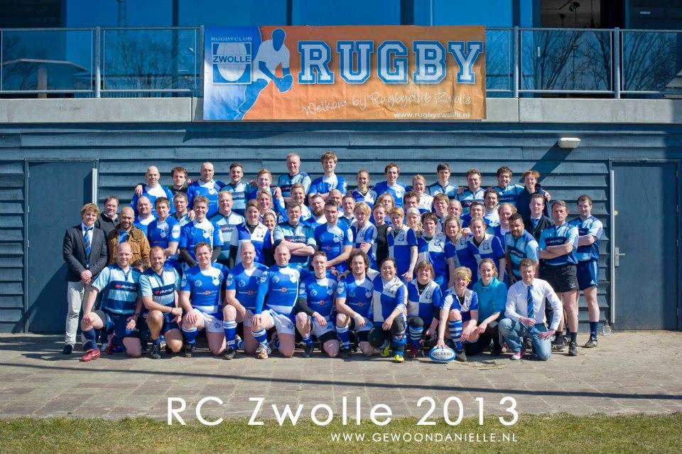 Clubfoto RC Zwolle 2013