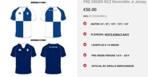 rugby shirt zwolle